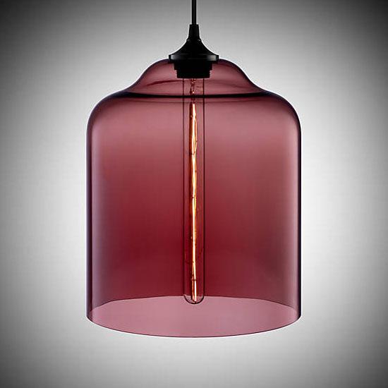 Niche Modern Bell Jar Pendant by Jeremy Pyles