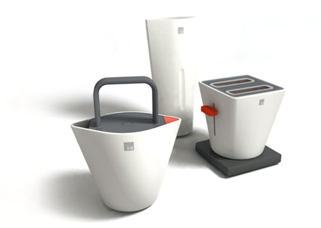 Nomad Ceramic Kitchen Appliances