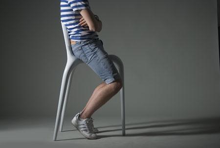 Snygg stol eller pall