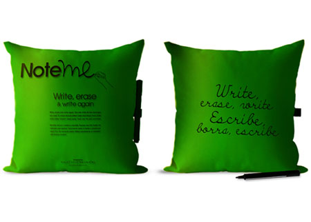 Note Me Pillow