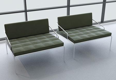 nurus flat armchair