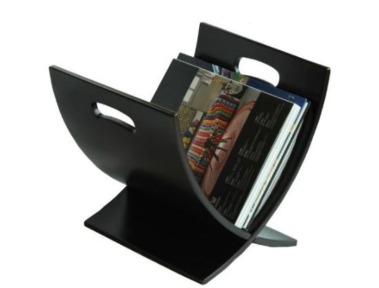 Oceanstar M1170 Contemporary Wooden Magazine Rack