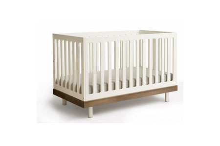 Ouef Collection Classic Crib Natural Birch