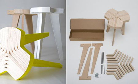 Offset Stool