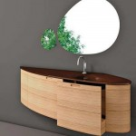 Contemporary Wall-Mounted Order Bathroom Vanity from Cristalquattro