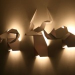 Origami's Hunter: An Eye-catching Wall Sconces From Veronica Posada