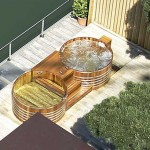 Outdoor Wooden Spa Tub