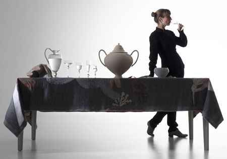 Oversized Tableware