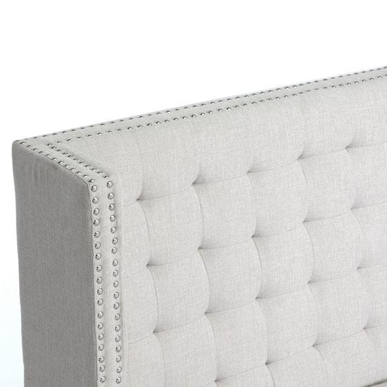 Owstynn Linen Modern Banquette Bench