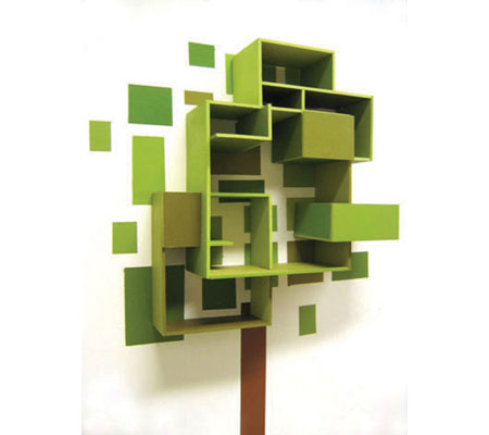 painting shelf system