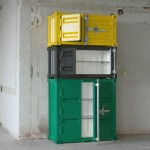 Pandora: A Container Inspired Cabinets