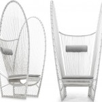 Papillion Lounge Chair Is A Catchy Oversized Lounge Chair