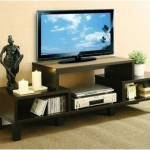 Parke 60 Inches TV Stand Holds Your Television Set Safe