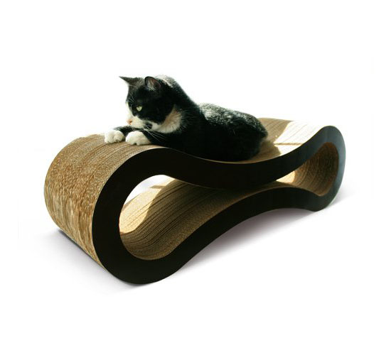 Give your cats a stylish scratching pad with the petfusion cat scratcher lounge modern home decor - Modern cat scratcher ...
