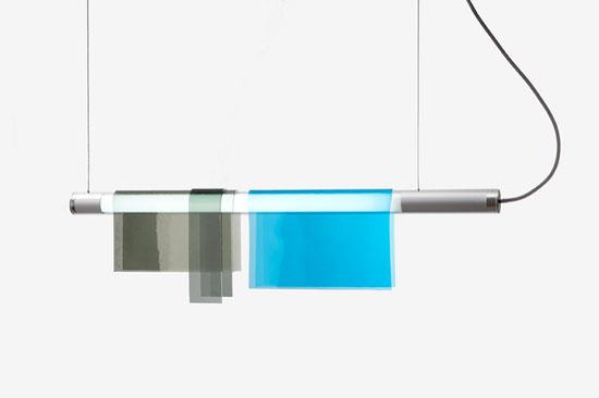 Photochromic Suspension Light