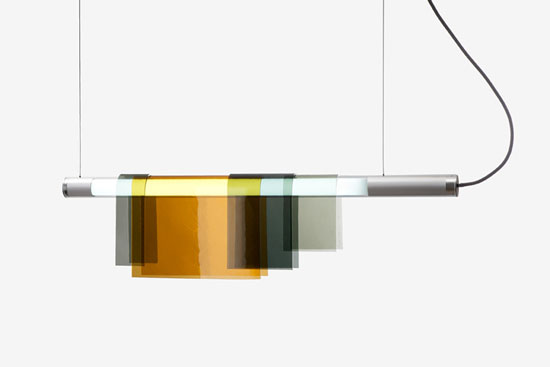 Photochromic Suspension Light