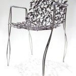 Phul Chair: A Handmade Stainless Steel Chair