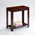 The Pierce Espresso Chairside Table Will Be Ideal For Your Modern Home Interior