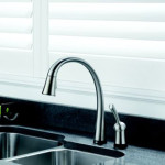 Pilar Single Handle Pull-Down Kitchen Faucet From Delta