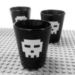 Pixel Skull Shot Glasses: Adds Style To Every Drinking Session