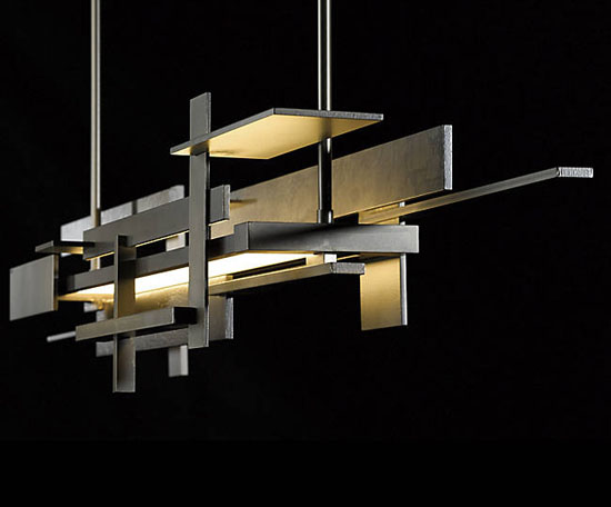 Planar LED Linear Suspension by Hubbardton Forge
