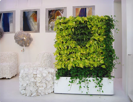 Plant Walls Refreshing And Unique Dcor For Your Home Office