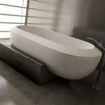 Minimalist Style Plinth Bath for Your Bathroom