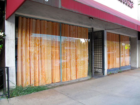 Plywood Curtain
