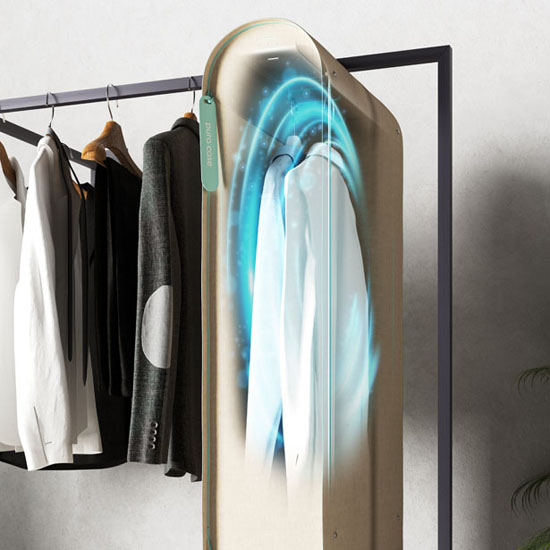 PURA-CASE: OZONE POWER TO PURIFY YOUR CLOTHES