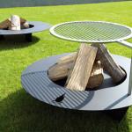 Elegant Fireplate From Radius Design