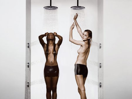 raindance shower head from hansgrohe