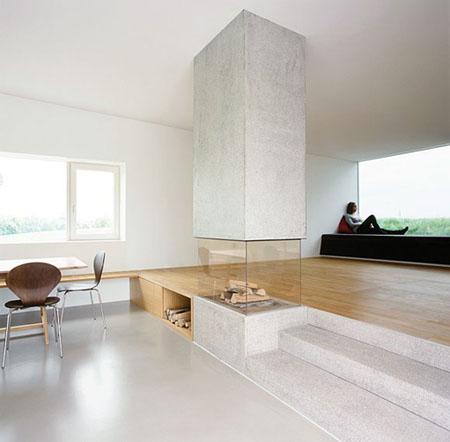 Elegant Firpelace By X Architekten | Modern Home Decor