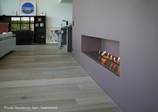 Remote Controlled Bio Fireplace