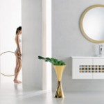 Retro Look Twice New'60 Bathroom Design from Branchetti
