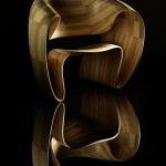 Get Amazed By Bent Wood Through The Ribbon Chair