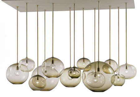 BLOWN GLASS BALL CHANDELIER – Chandelier Glass Balls