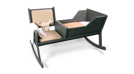 Rockid A Rocking Chair And Cradle In One Modern Home Decor