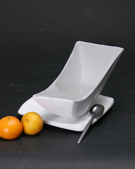 Enjoyable Unique Rocking Bowl For A Balanced Meal Modern Home Decor Ibusinesslaw Wood Chair Design Ideas Ibusinesslaworg
