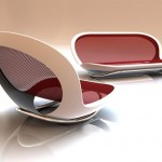 Purity Modern Rocking Chair by Scott Wilson