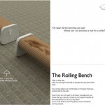 The Rolling Bench Design by Sung Woo Park