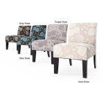 Roses Deco Accent Chair Adds Color And Style To Your Modern Living Room