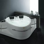 Heart Shaped Whirlpool Bathtub