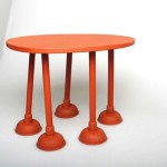 Rubber Table: A Playful And Unique Table