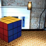 Rubik Cube Locker: A Playful Home Furniture Design