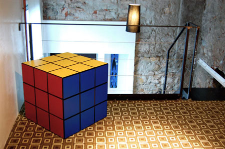 Rubik Cube Locker