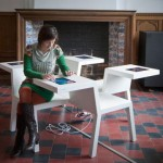 Salsa Table: Uniquely Incorporates Technology And Furniture Design