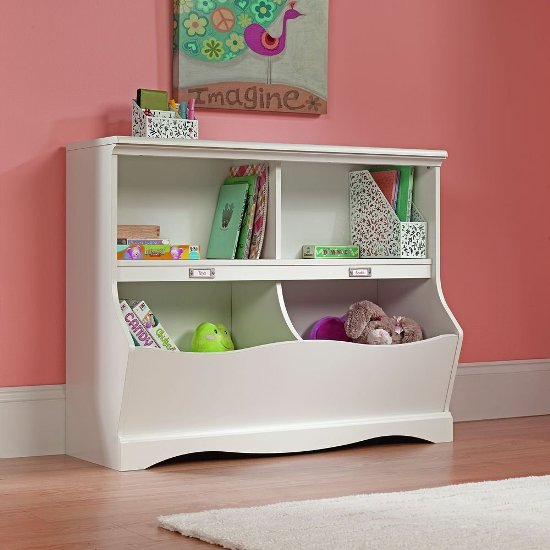 Sauder Pogo Bookcase And Footboard