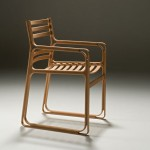 SDB 001 Stylish Wooden Chair by Fumio Enomoto