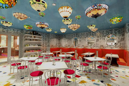 Unique Cafe Creative Interior Design
