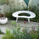 Shell Bench: Sleek And Stylish For Your Garden